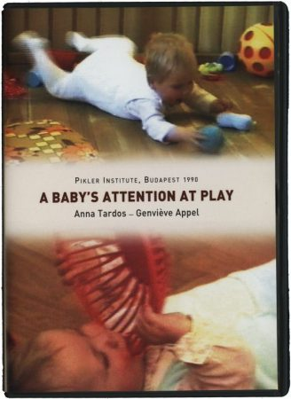 A baby's attention at play