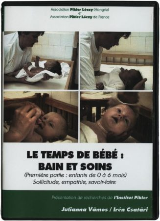 Le temps de bébé: bain et soins (I): Sollicitude, empathie, savoir-faire