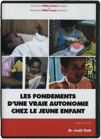 Les fondements d'une vraie autonomie chez le jeune enfant + brochure